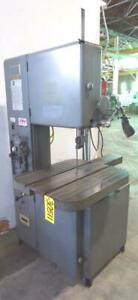 Grob 18 Band Saw No 4v 18 28 X 24 Air hyd Feed Tbl 30511