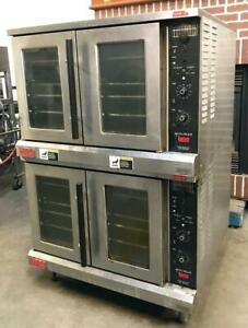 Lang Accu plus Double Deck Full Size Electric Heavy Duty Convection Bakery Oven