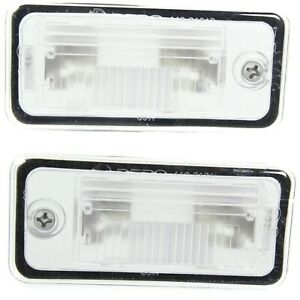 New Set Of 2 License Plate Lights Lamps Rear Driver P