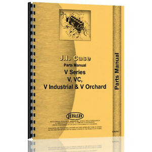 New Case V Tractor Parts Manual