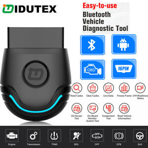 Pu 600 Obd2 Bluetooth Scanner Diagnostic Tool For Android Abs Airbag Srs Dpf Epb