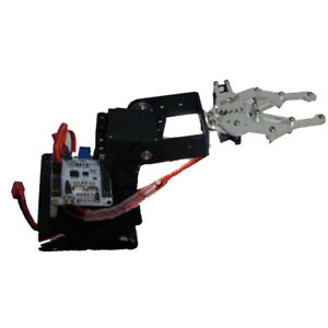 3 Dof Assembled Robotic Mechanical Arm Gripper With Servo Base For Arduino