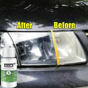 Car Headlight Lens Restoration Repair Kit Plastic Polishing Cleaner Liquid Coat