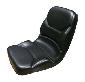 Ts1110ind Black Seat For Tractors Backhoes Allis Chalmers 8030 8050 8070 8550