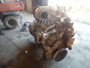 Caterpillar 3306pc Ta Turbo Diesel Engine Rare Takeout 3306 Pc Aftercooled Cat