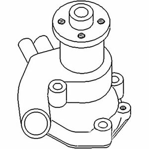 72165269 New Water Pump Made To Fit Minneapolis Moline Tractor Models 2 62 2 65