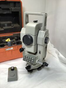 Sokkia Lietz Sdm3f06 Total Station Survey Instrument W case