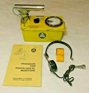 good Condition Civil Defense Victoreen Cdv 700 6b Geiger Counter survey Meter