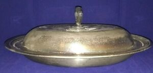 Antique Barbour Sp Co International Silver Lidded Serving Dish 6028