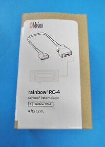 Masimo 2406 Rainbow Rc 4 Spo2 Patient Extension Cable 20 pin To M lncs