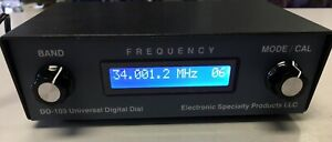 Electronic Specialty Products Dd 103 Universal Digital Dial Frequency Counter