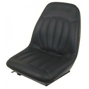 High Back Black Seat Bobcat 463 542 543 642 643 742 743 843 t190 Skid Steer on