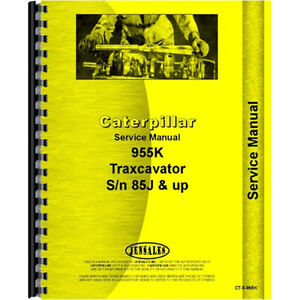 For Caterpillar 955k Industrial Construction Service Manual For Traxcavator