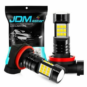 Jdm Astar 2x Mini 55w H11 H8 H9 Led Fog Driving Light White 6500k Bulbs Replace