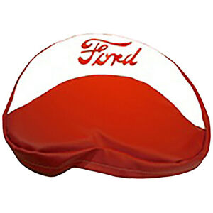 19 Red And White Seat Cover W 1 5 Foam For Ford