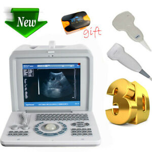 3d Portable Ultrasound Scanner Machine Medical Equipment Convex Linear Probes