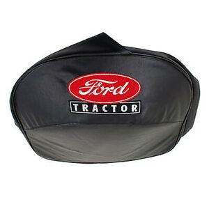 Black Seat Cover Fits Ford Tractors 1939 To 1964 Seat Pan Seats 8n 401 blk