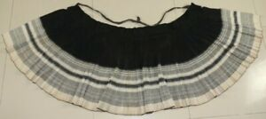 Big Vintage Chinese Minority People S Homespun Hand Woven Local Cloth Skirt