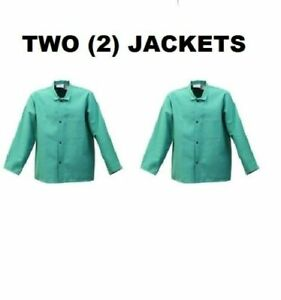 2 Two Proban Fr 7a Flame Resistant 30 Coats Fr630 Welding Jackets