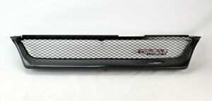 Front Upper Bumper Grill W Metal Mesh For Toyota Corolla 1993 1997 Ae100 Ae101