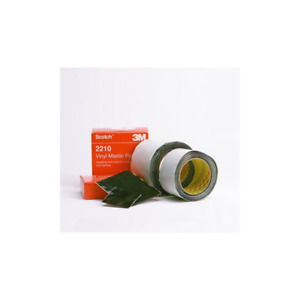 Scotch Vinyl Mastic Roll 2210 4 In X 10 Ft Black