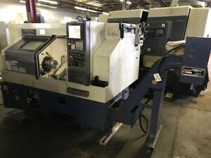 Cnc Lathe Mori Seiki Cl200b 500 1999 Video Under Power Tailstock