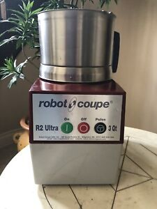 Robot Coupe R2 Ultra 3 Quart Food Processor R2n Great Price