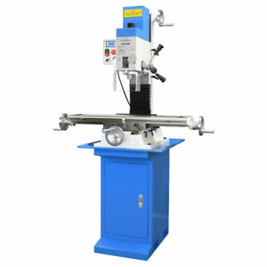 Pm 30mv Vertical Bench Type Milling Machine Stand Variable Speed Free Shipping