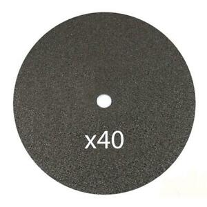 40 Pack 14 X 1 8 X 1 Chop Saw Blade Metal Stainless Steel Cutting Disc