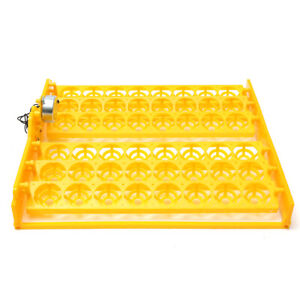 48 Position Incubator Turner Tray With Pcb Turning Motor 110v For Eggs Quail