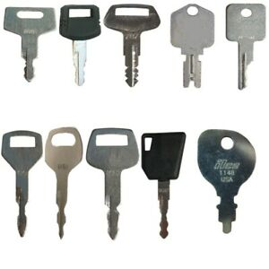 67 Ignition Key Set For Heavy Equipment Construction Models