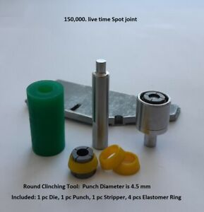 Punches And Dies For Sheet Metal Clinching Machine Tools