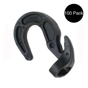 100 Shock Cord Hooks Adjustable Ball Rubber Boat Bungee Tarp Bungie Cover