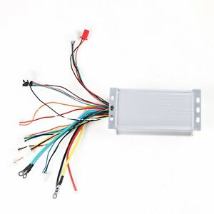 48v 1800w Electric Speed Controller Box Fit E bike Gokart Atv Brushless Motor