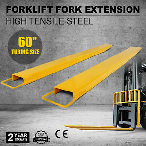 60 x 5 8 Forklift Pallet Fork Extensions Pair 2 Fork Thickness Heavy Duty