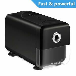Electric Pencil Sharpener heavy Duty Helical Blade And Auto stop Feature durable