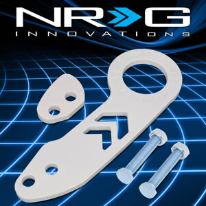 Nrg Tow 110wt Aluminum Universal Fit Vehicle Rear Bumper Towing Tow Hook Kit