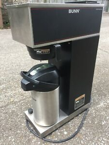 Bunn Vpr aps Pourover Coffee Brewer With Airpot No Plumbing Hook Up Required