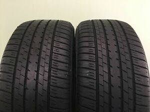Set Of 2 Used Tires 77 Life P235 50r17 96w Bridgestone Turanza Er33 2355017