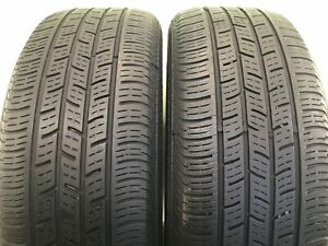Run Flat Set Of 2 Used Tires P205 55r17 91h Continental Contiprocontact Ssr