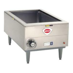 Wells Smpt Full Size Food Warmer W Thermostatic Controls