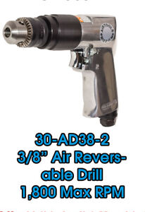 3 8 Heavy Duty Pneumatic Reversible Power Pistol Drill