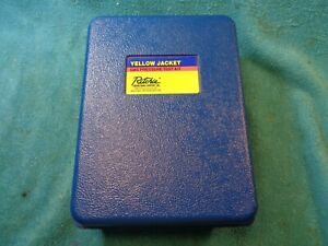 Ritchie Yellow Jacket Gas Pressure 78060 Test Kit Hvac Gauge Used Very Little
