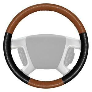 Wheelskins Europerf Perforated Tan Steering Wheel Cover W Black Sides Color