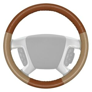Wheelskins Europerf Perforated Tan Steering Wheel Cover W Sand Sides Color