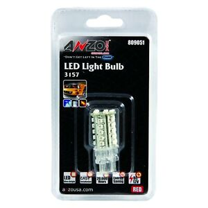 For Toyota Venza 2011 2013 Anzo 809051 Led Bulb 3157 Red