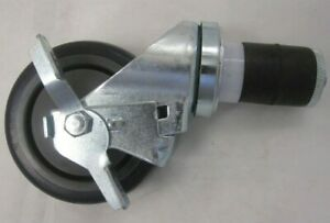 Set Of 4 Swivel Casters 4 Inch 2 With Brake