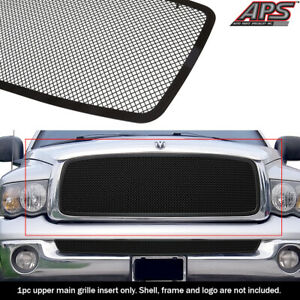 For 2002 2005 Dodge Ram 1500 2500 3500 Black Mesh Grille Insert