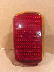 1940 Plymouth Deluxe Yankee Reflex 268 Red Glass Tail Light Lens