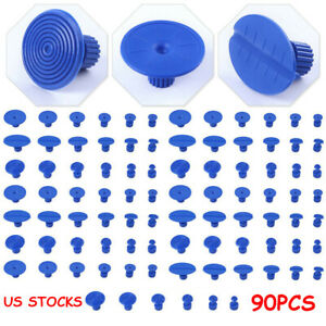 Us Paintless Dent Repair Pdr Glue Pulling Tabs For All Puller Hail Removal Kit